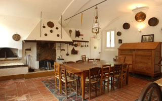 The peasant farmer's kitchen