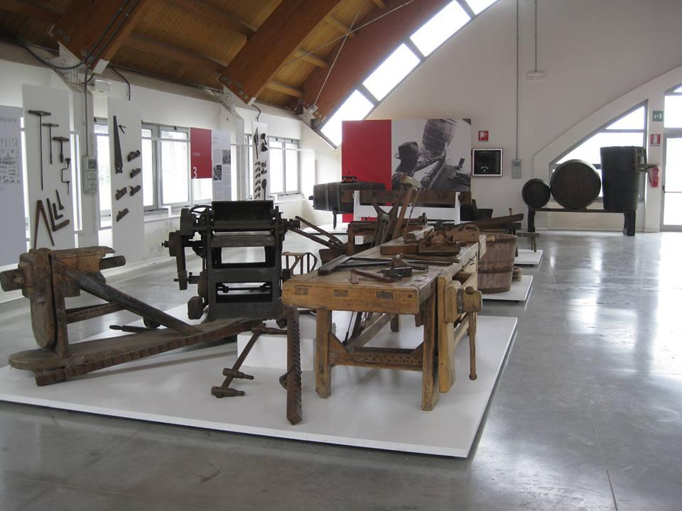 La sezione espositiva dedicata agli artigiani