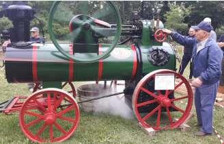 La campagna a vapore